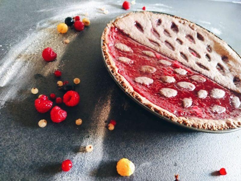 Linzer Torte mit Marmelade