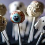 Schokoladen Cake Pops für Halloween